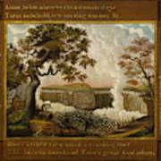 The Falls Of Niagara  Art Print
