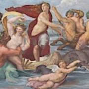 Triumph Of Galatea, Detail Art Print