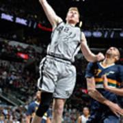 Utah Jazz V San Antonio Spurs Art Print