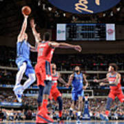 Washington Wizards V Dallas Mavericks Art Print
