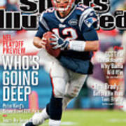 Whos Going Deep 2012 Nfl Playoff Preview Issue Sports Illustrated Cover Art Print