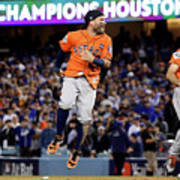 World Series - Houston Astros V Los Art Print