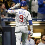 Chicago Cubs V Milwaukee Brewers Art Print