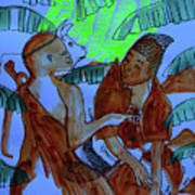 Kintu And Nambi Kintus Tasks Art Print