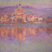 Vetheuil Art Print