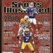 2010 Sec Football Preview Issue Sports Illustrated Cover Art Print
