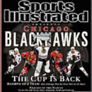 2010 Stanley Cup Finals Sports Illustrated Cover Art Print