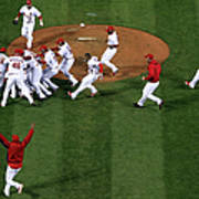 2011 World Series Game 7 - Texas Art Print