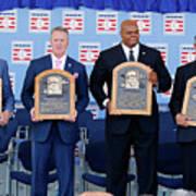 2014 Baseball Hall Of Fame Induction Art Print