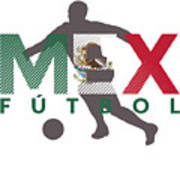 2018 Soccer Cup Mexico Flag Mex Championship Iso Art Print