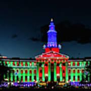 2019 Civic Center Denver Art Print