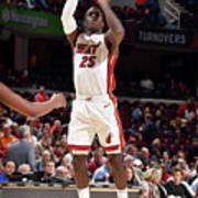 Miami Heat V Cleveland Cavaliers Art Print