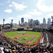 St Louis Cardinals V Pittsburgh Pirates Art Print