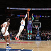 Charlotte Hornets V New York Knicks Art Print
