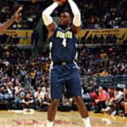 Denver Nuggets V Los Angeles Lakers Art Print