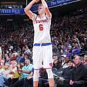 New York Knicks V Sacramento Kings Art Print