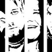 The 27th club mural Black Kurt Cobain amy winehouse proverbes Jimmy Hedrix