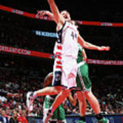 Boston Celtics V Washington Wizards - Art Print