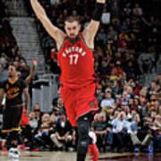Toronto Raptors V Cleveland Cavaliers Art Print