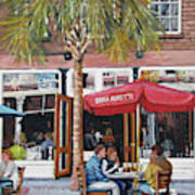 2nd Sunday Lunch On King St. Art Print