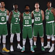 2018-19 Boston Celtics Media Day Art Print