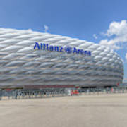 Allianz Arena Munich  Art Print