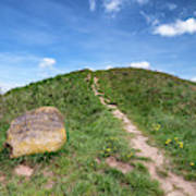 Bronze age Burial mound of Danish Egtved girl Art Print