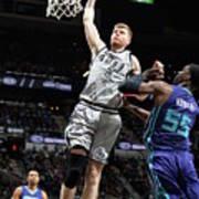 Charlotte Hornets V San Antonio Spurs Art Print