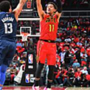 Dallas Mavericks V Atlanta Hawks Art Print