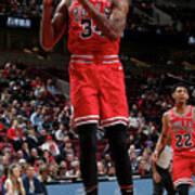 Denver Nuggets V Chicago Bulls Art Print