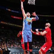 Denver Nuggets V Washington Wizards Art Print