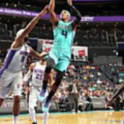 Detroit Pistons V Charlotte Hornets Art Print
