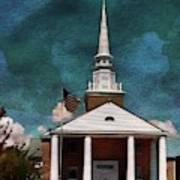 First Baptist Church North Myrtle Beach S C Art Print