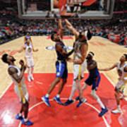 Golden State Warriors V La Clippers Art Print