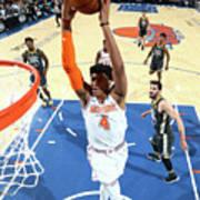 Golden State Warriors V New York Knicks Art Print