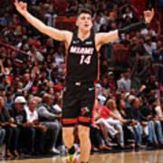 Houston Rockets V Miami Heat Art Print