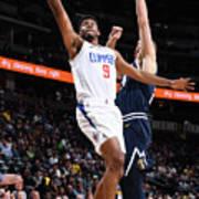 La Clippers V Denver Nuggets Art Print