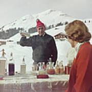 Lech Ice Bar Art Print