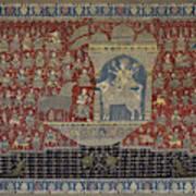 Mata Ki Pachedi Art Print