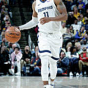 Memphis Grizzlies V Indiana Pacers Art Print