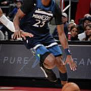 Minnesota Timberwolves V Detroit Pistons Art Print