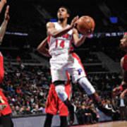 New Orleans Pelicans V Detroit Pistons Art Print