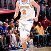 New York Knicks V La Clippers Art Print