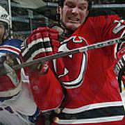 New York Rangers V New Jersey Devils Art Print