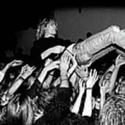 Nirvana Perform Live In Frankfurt Art Print