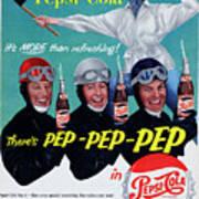 Pepsi-cola Art Print