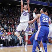 Philadelphia 76ers V Sacramento Kings Art Print