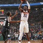 Phoenix Suns V Milwaukee Bucks Art Print
