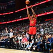 San Antonio Spurs V Atlanta Hawks Art Print