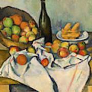 The Basket Of Apples Art Print